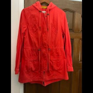 Mossimo red utility jacket
